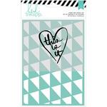 This Is It Stamp & Stencil Set - Wanderlust - Heidi Swapp