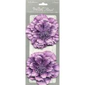Purple - Bella! Paper Florals 2/Pkg