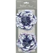 Blue - Bella! Paper Florals 2/Pkg