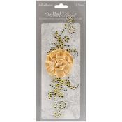 Bella! Bling & Fabric Trim Embellishments - Gold