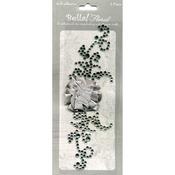 Silver - Bella! Bling & Fabric Trim Embellishments