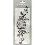 Silver - Bella! Bling & Fabric Trim Embellishments