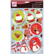 Christmas Characters - Anita's Christmas A4 Foiled Decoupage Sheet