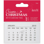 2015 - Anita's Calendar Tabs 10/Pkg