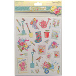 Tools - Forget-Me-Not A4 Glitter Stickers