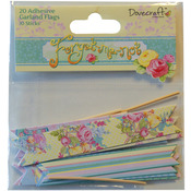 Forget - Me - Not Garland Flags