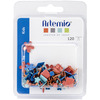 Kids - Artemio Shaped Brads 120/Pkg Artemio-Shaped Brads. These unique pieces are the perfect addition to your creative ideas! This 4-1/2x3-1/2 inch package contains 120 shaped brads. Comes in a variety of assorted designs/colors. Each sold separately. Imported.