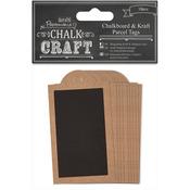 Chalk Craft Chalkboard & Craft Parcel Tags 10/Pkg-
