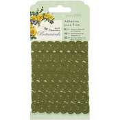 Papermania Botanicals Adhesive Lace Trim -