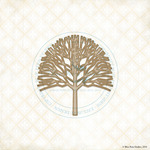 Poplar Tree Laser Cut Chipboard - Blue Fern Studios