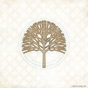 Poplar Tree Laser Cut Chipboard - Blue Fern Studios