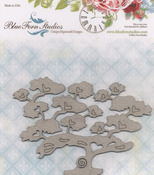 Bansai Tree Laser Cut Chipboard - Blue Fern Studios