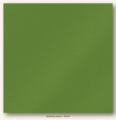 Sparkling Apple Glimmer Cardstock - My Minds Eye
