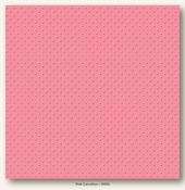 Pink Carnation Mini Dots Cardstock - My Minds Eye