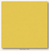 Banana Pepper Canvas Textured Cardstock - My Minds Eye
