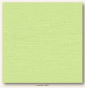 Lime Pop Canvas Textured Cardstock - My Minds Eye