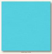 Atlantic Shore Canvas Textured Cardstock - My Minds Eye