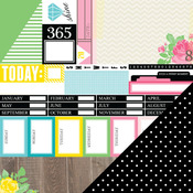 Daily Schedule Paper - 365 - Chickaniddy Crafts