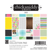 365 6 x 6 Paper Pad - Chickaniddy Crafts