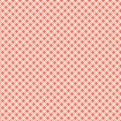 Rounded Trellis Paper - Cottage Living - Pebbles