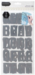 Cottage Living Alphabet Masks - Pebbles