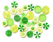 Green Button Bouquet - Queen & Co