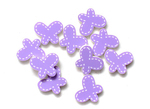 Purple Butterflies - Queen & Co