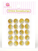 Yellow Ombre Goosebumps - Queen & Co