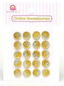 Yellow Ombre Goosebumps - Queen & Co