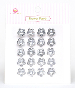 Clear Flower Pave Stones - Queen & Co
