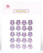 Purple Flower Pave Stones - Queen & Co