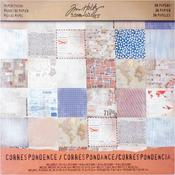 Correspondence Idea - Ology Paper Stash 12 x 12 Pad - Tim Holtz