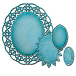Oval Regalia - Spellbinders Nestabilities Decorative Elements Dies