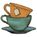 Sizzix Bigz Die By Tim Holtz - Tea Time By Tim Holtz