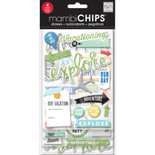 Vacation Chipboard Value Pack - Me & My Big Ideas