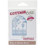 CottageCutz Elites Die - Days Of Spring Scene