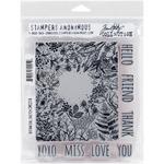 Botanical Sketch - Tim Holtz Cling Rubber Stamp Set