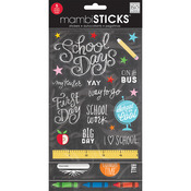 Stickers Value Pack -Chalk - School Today