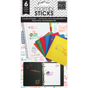 School Sayings Clear Stickers - Pocket Pages - Me & My Big Ideas
