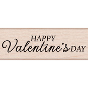 Happy Valentine's Day - Hero Arts Mounted Rubber Stamp