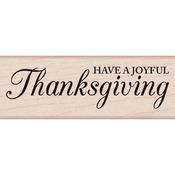 Have A Joyful Thanksgiving - Hero Arts Mounted Rubber Stamp