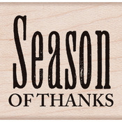 Season Of Thanks - Hero Arts Mounted Rubber Stamps