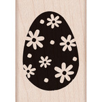 Easter Egg - Hero Arts Mounted Rubber Stamps