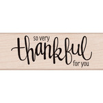 Thankful - Hero Arts Mounted Rubber Stamp