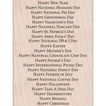 All Holiday Background - Hero Arts Mounted Rubber Stamp