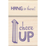 Cheer Up - Inkadinkado Mounted Stamp Set