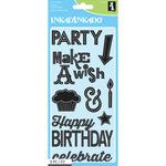 "Inkadinkado Clear Stamps 4""X8"" Sheet - Marquee Birthday"