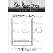Large Seed Packet - Two Paper Divas Clear Stamps