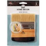 """FolkArt Home Decor Wide 4"""" Brush-"""