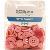 Pink - Button Bonanza .5lb Assorted Buttons